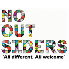 No Outsiders Logo